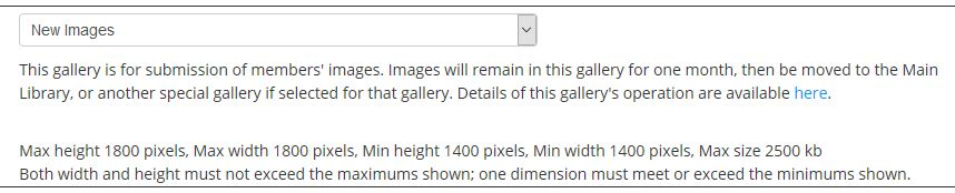 Gallery Limits
